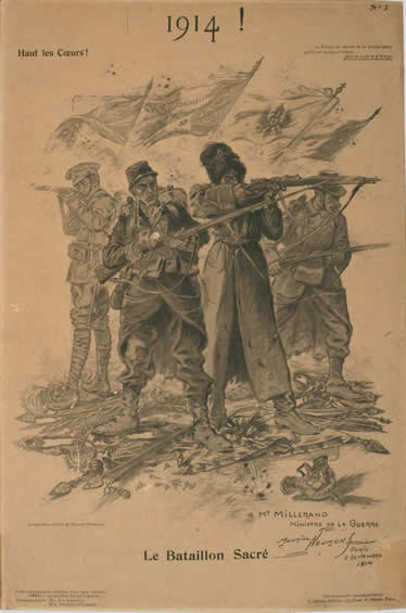 <i>1914! Le Battalion Sacré</i>