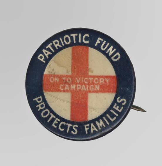Patriotic Fund Button