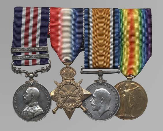 Peghamagabow's Medal Set