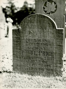 The Last Soldier Killed in the War