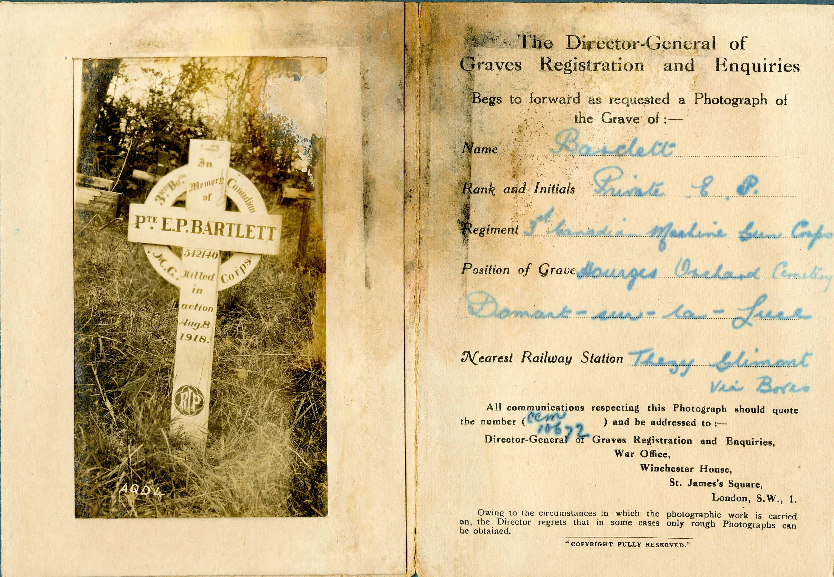 A Faraway Gravesite