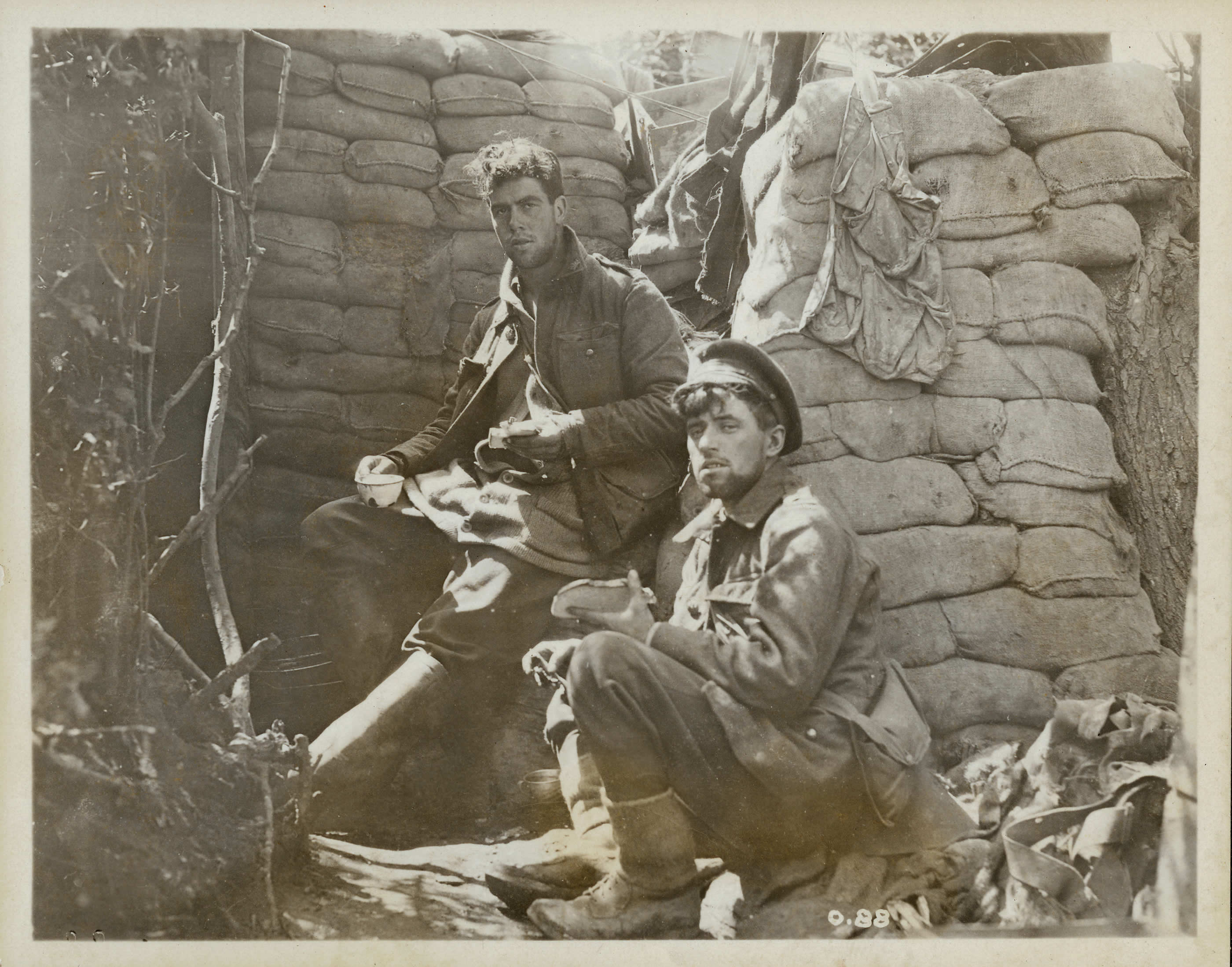 Lunch in the Trenches