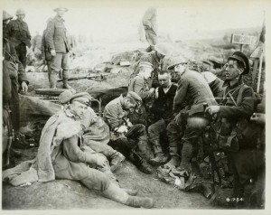 Wounded Germans