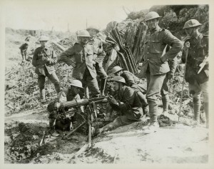 Testing a Vickers Machine-Gun