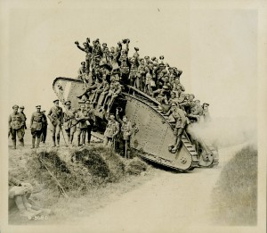 Returning on a Tank