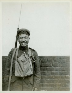 Japanese Canadian in Uniform