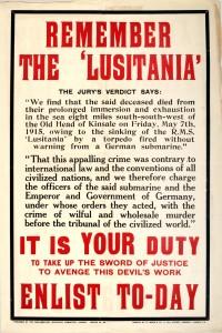 Remember the 'Lusitania'