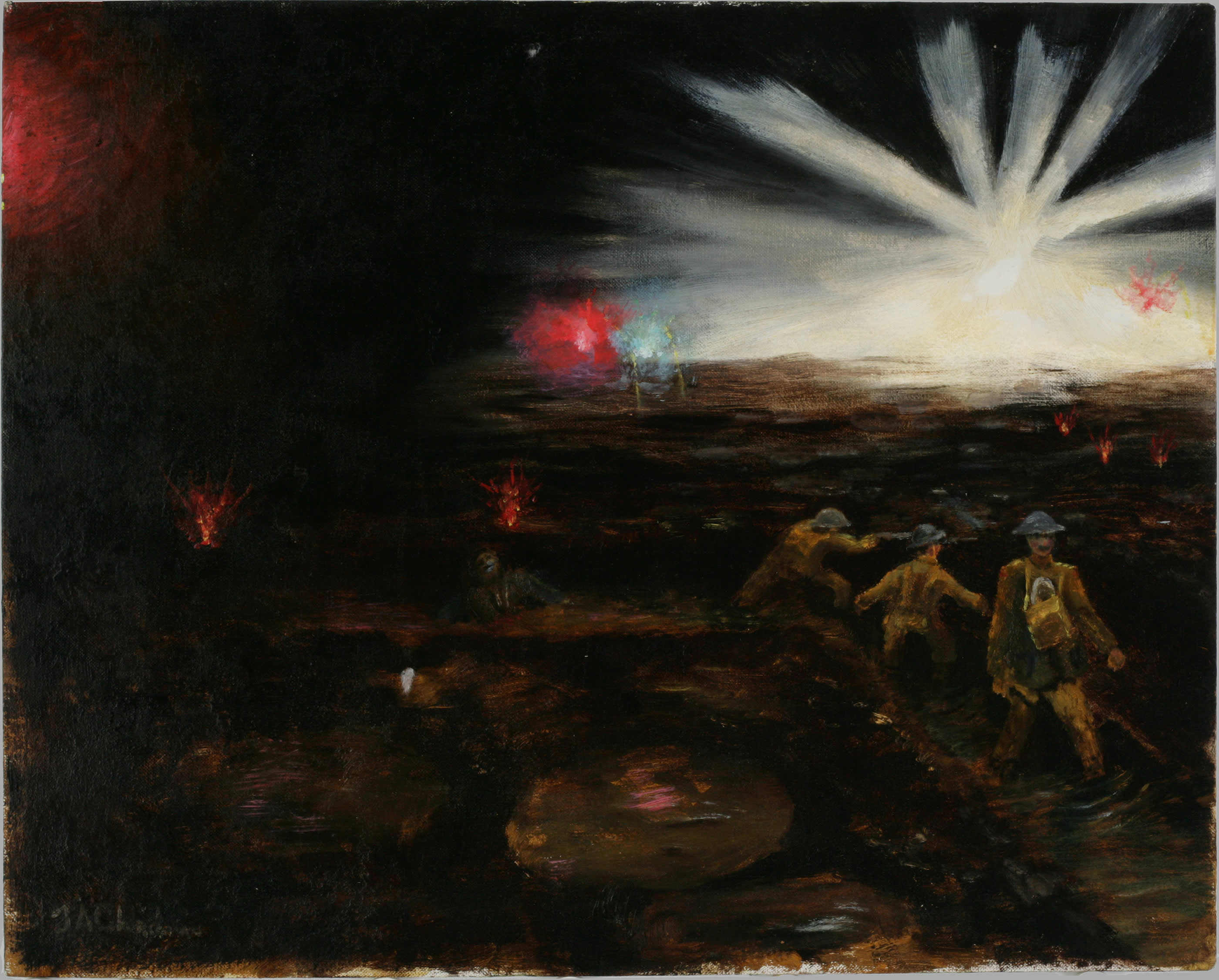 <i>The Front Line - At Night</i>