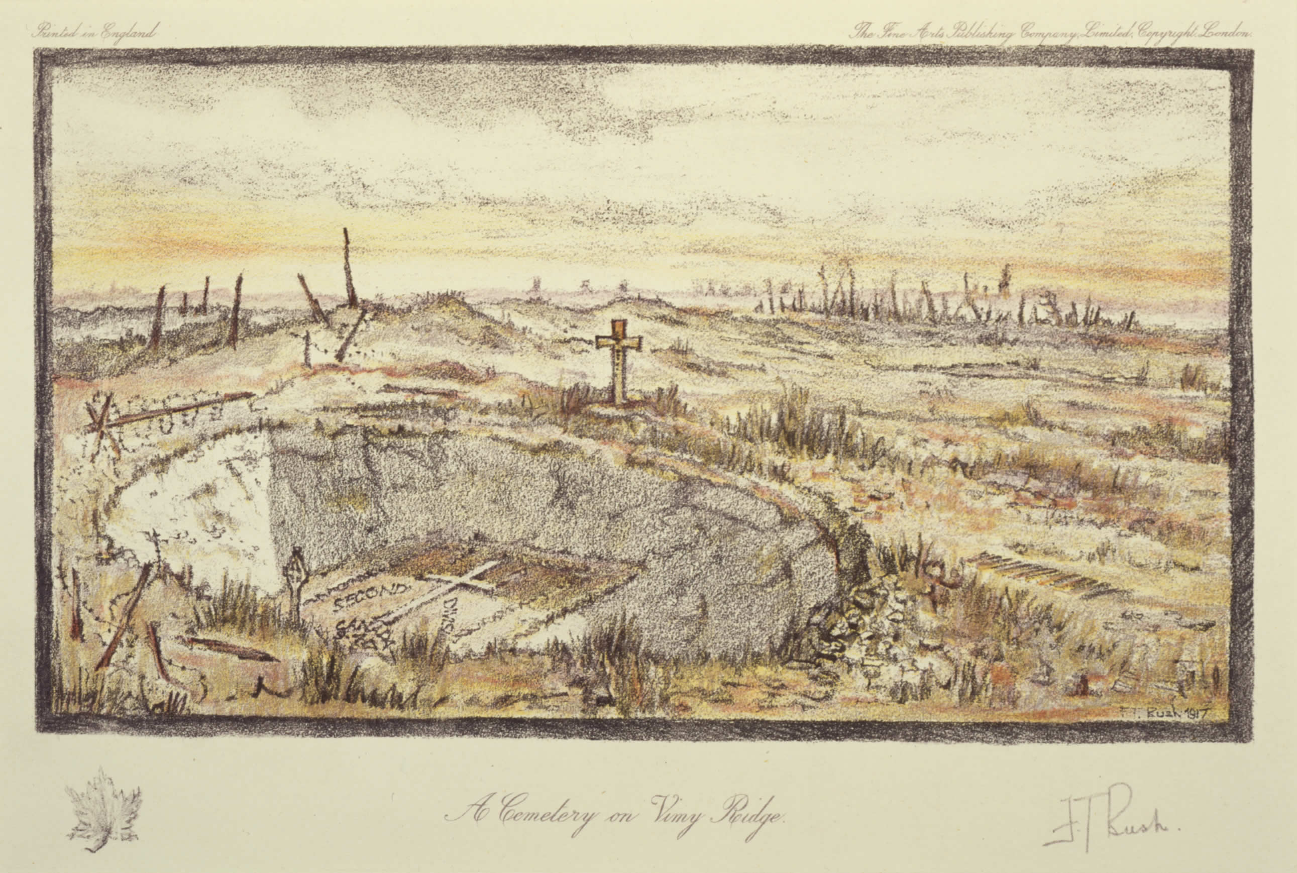 <i>A Cemetery on Vimy Ridge</i>