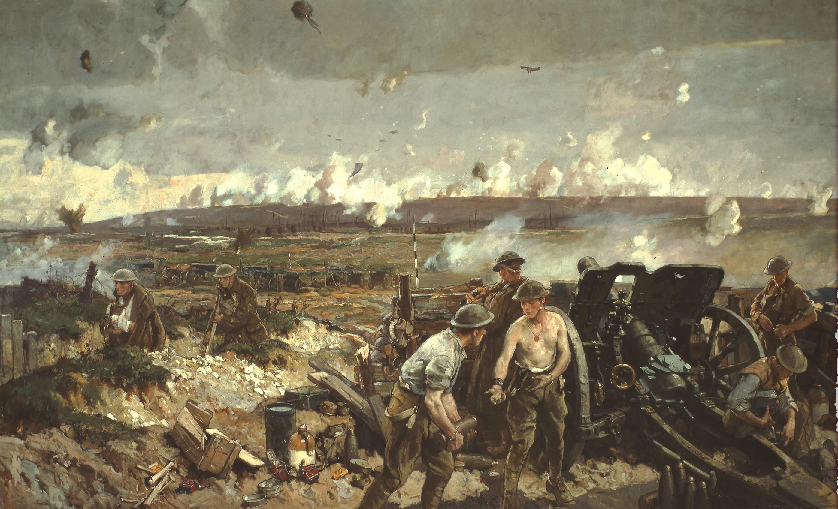 <i>The Taking of Vimy Ridge, Easter Monday 1917</i>