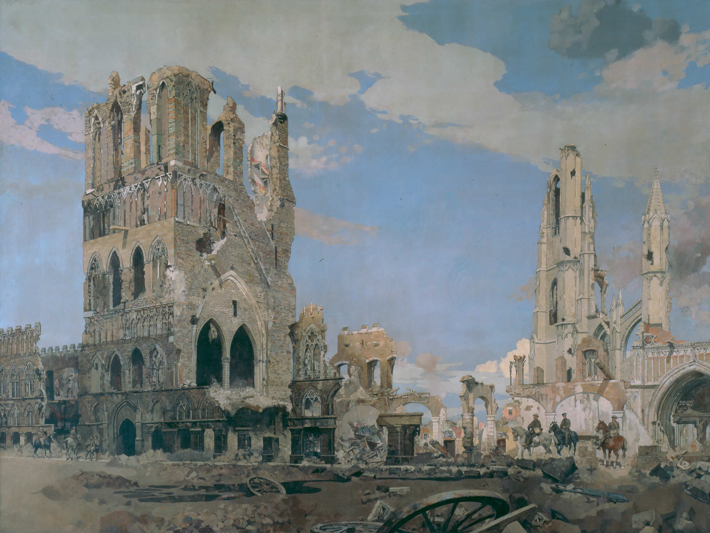 <i>The Cloth Hall, Ypres</i>