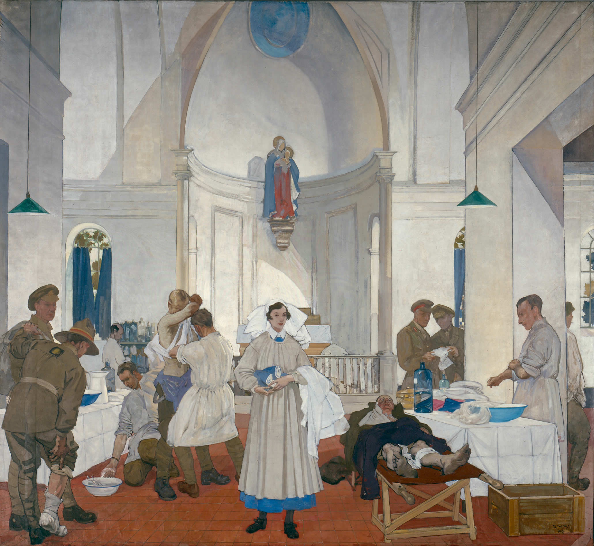 <i>No. 3 Canadian Stationary Hospital at Doullens</i>