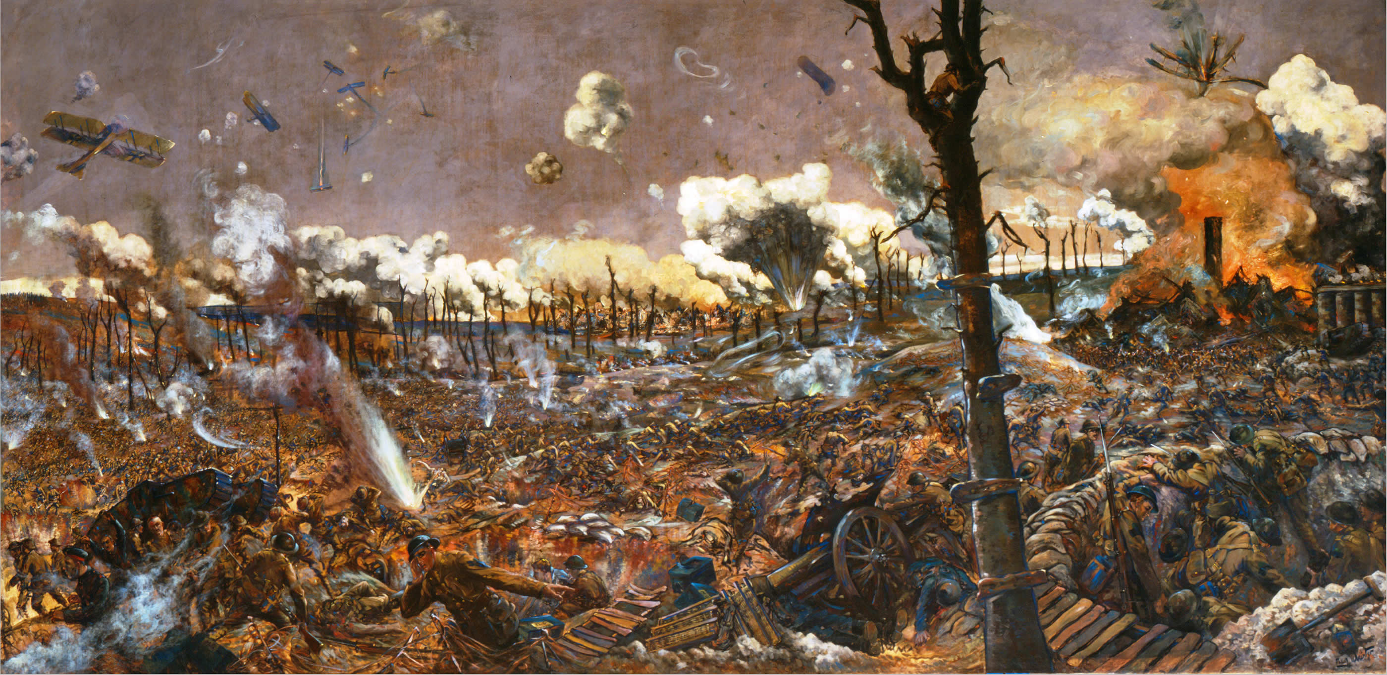 official art i battle of courcelette i canada and the first
