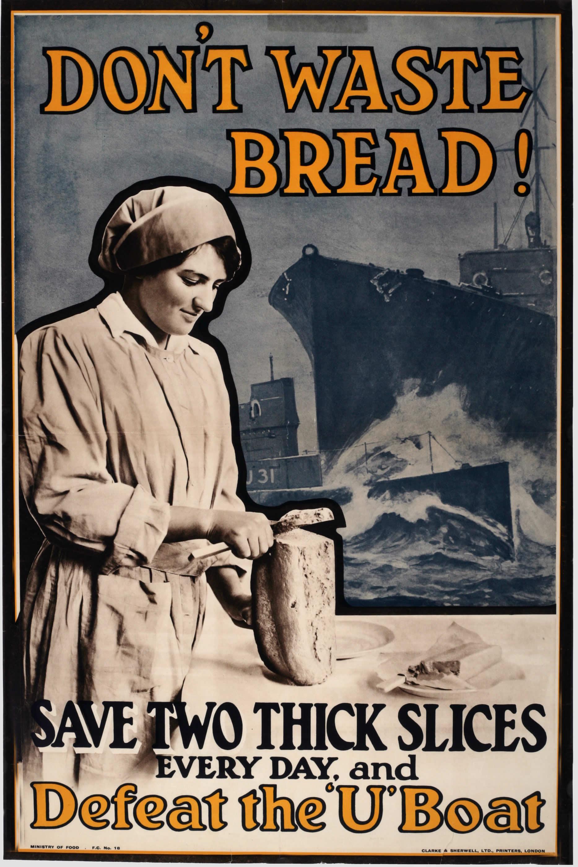 <i>Don't Waste Bread!</i>