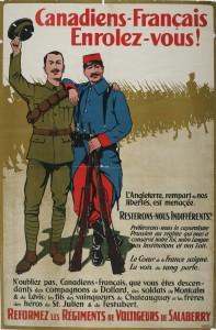 Canadiens-Francais, Enrolez Vous! (French Canadians, Enlist!)