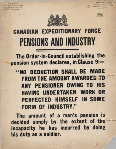 Pensions and Industry