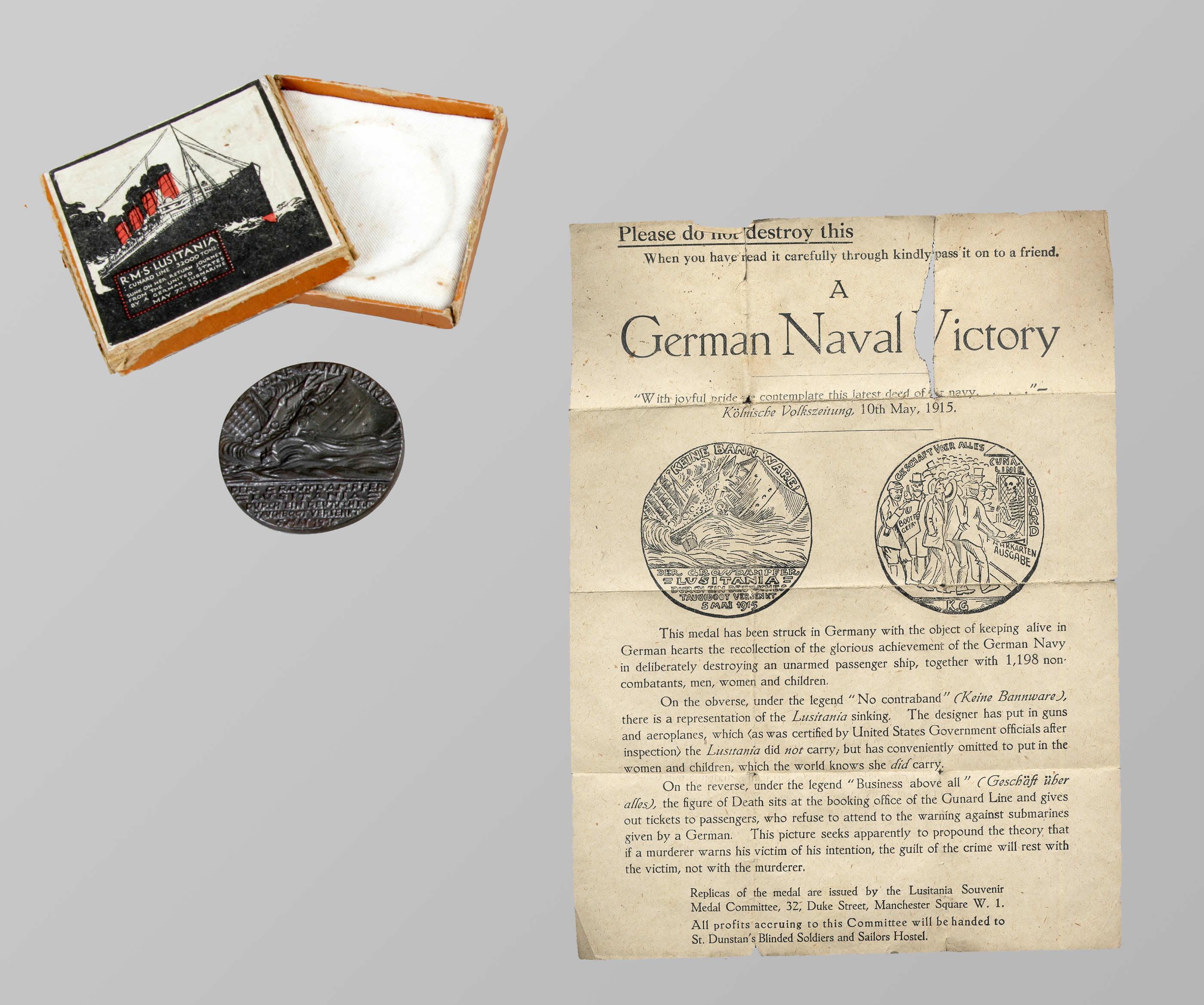 <i>Lusitania</i> Medal