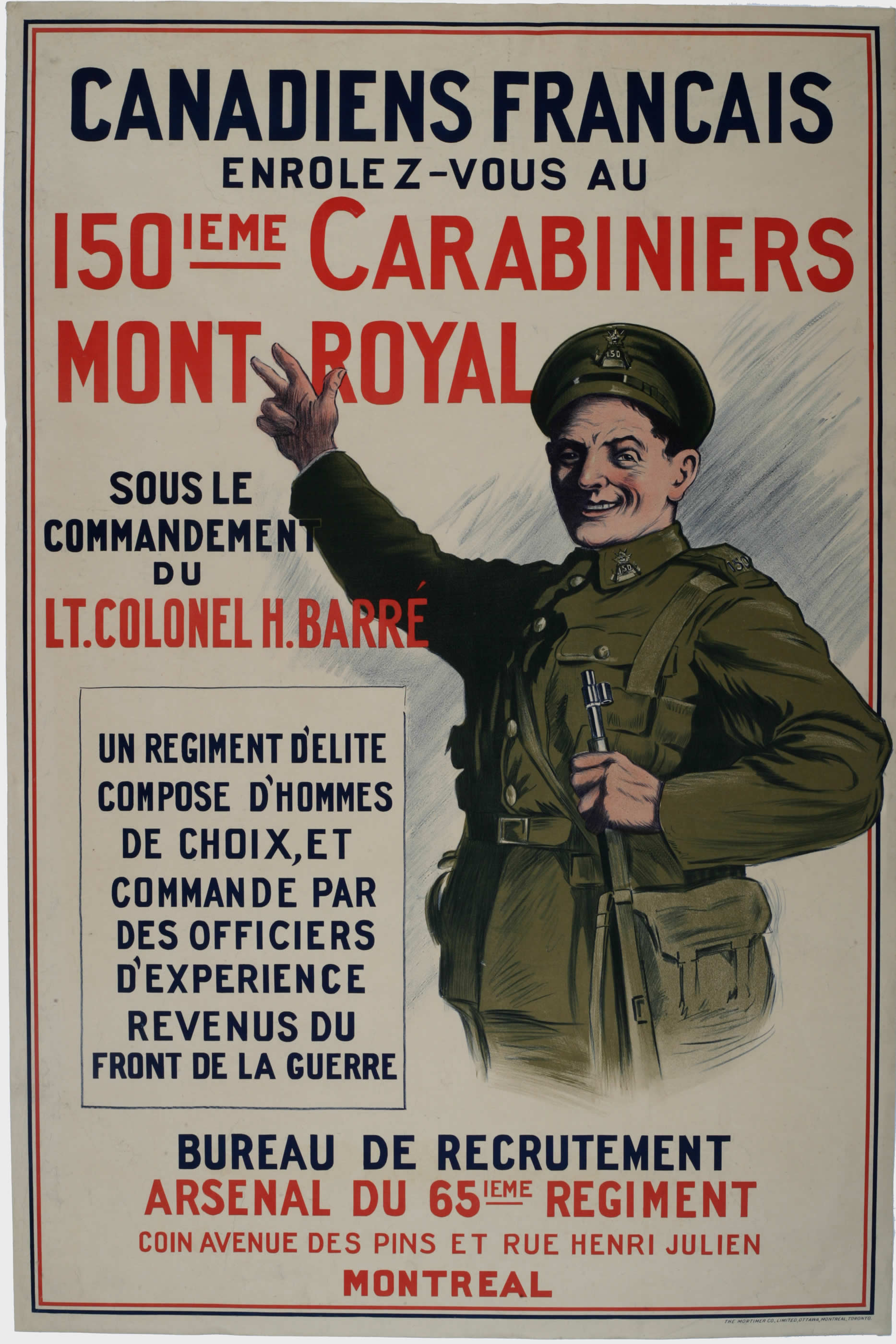 <i>150ième Carabiniers</i> (150th Battalion)