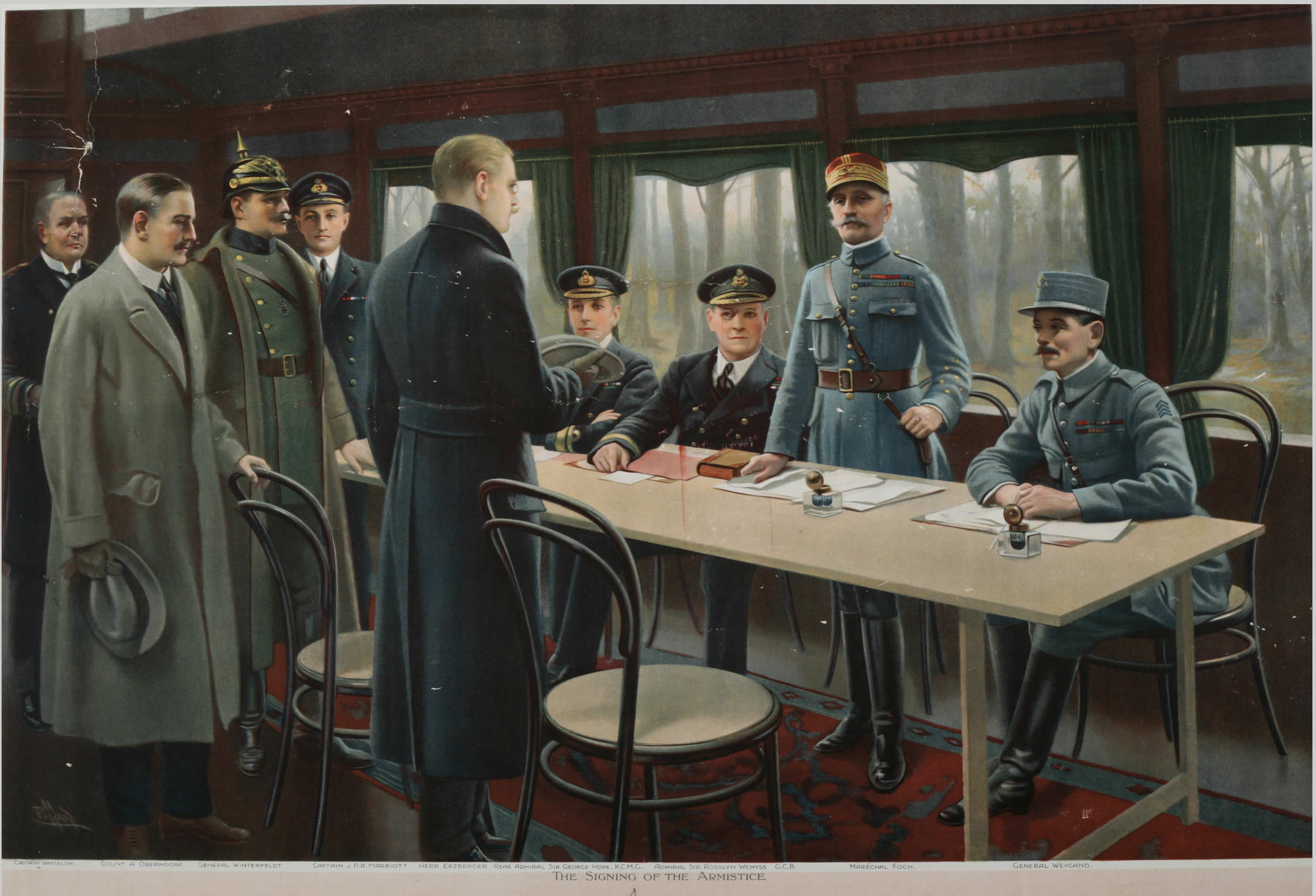 Armistice, November 1918