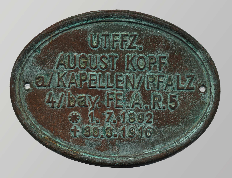 German Grave Marker