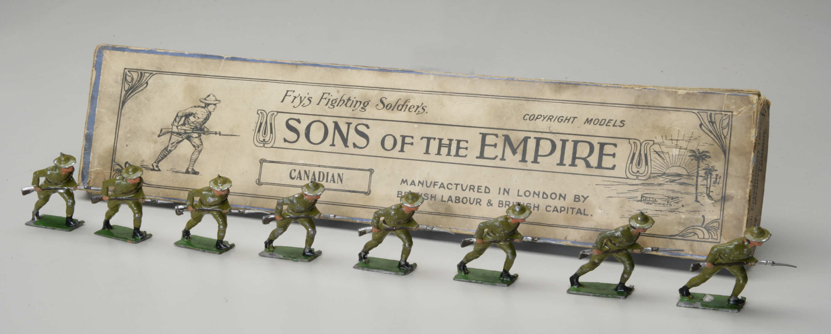 Toys and Models - Toy Soldiers | Canada and the First World War