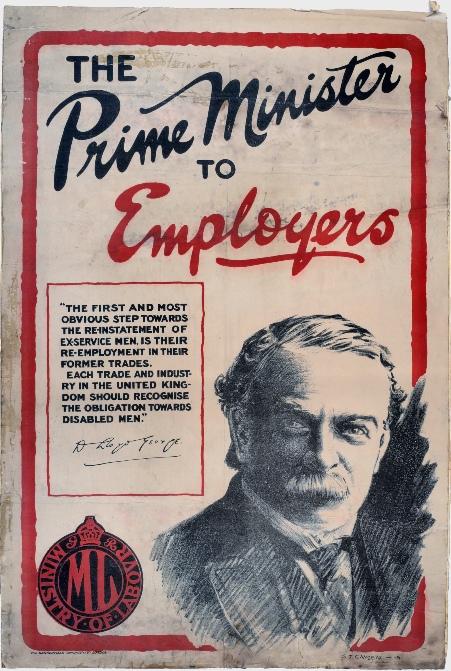 The Prime Minister to Employers