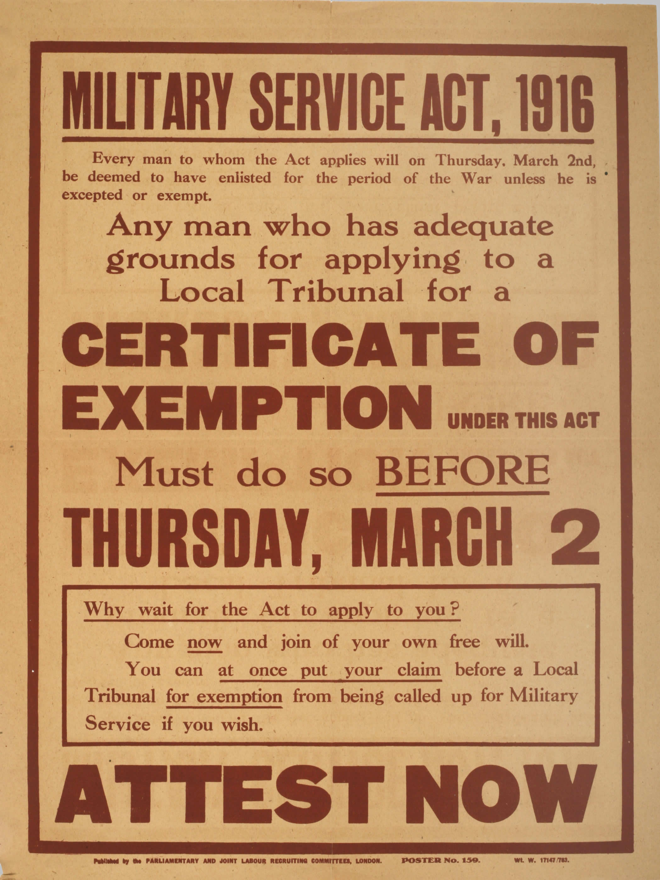 recruitment and conscription conscription and the military service act 1916