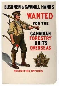 Bushmen and Sawmill Hands Wanted
