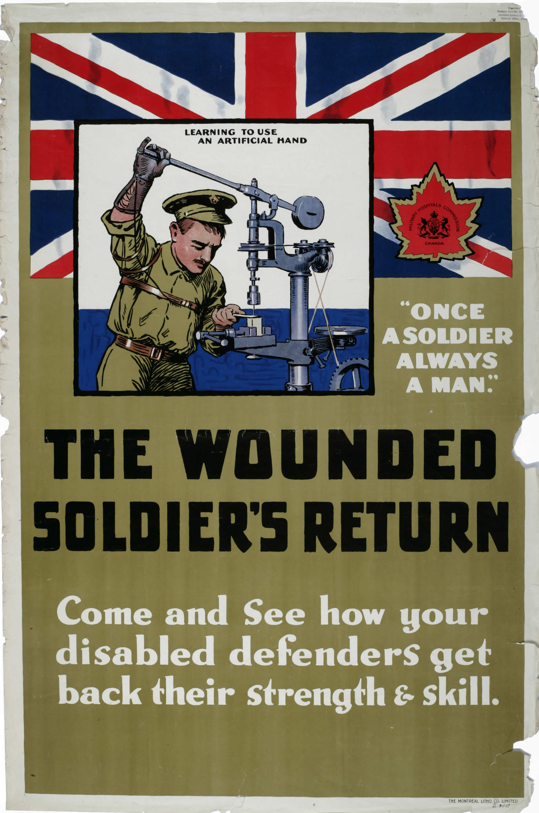 The Wounded Soldier's Return