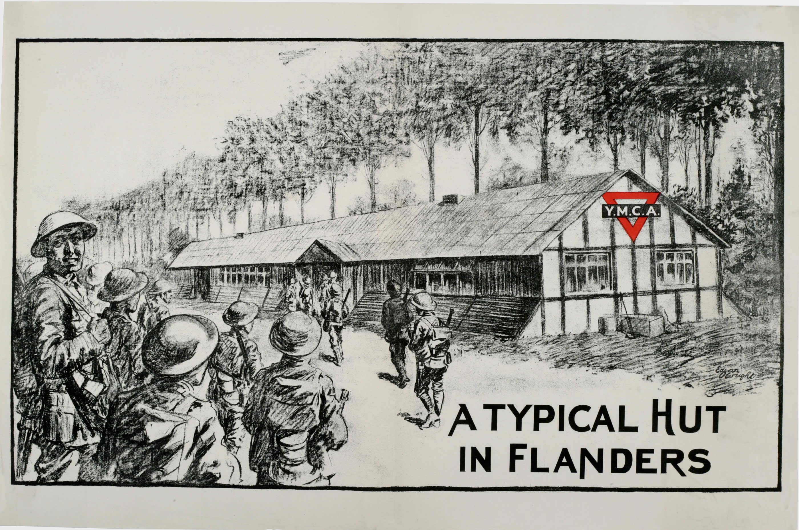 Image result for ymca ww1