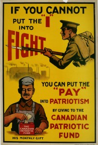 """If You Cannot Put the """"I"""" into Fight"""