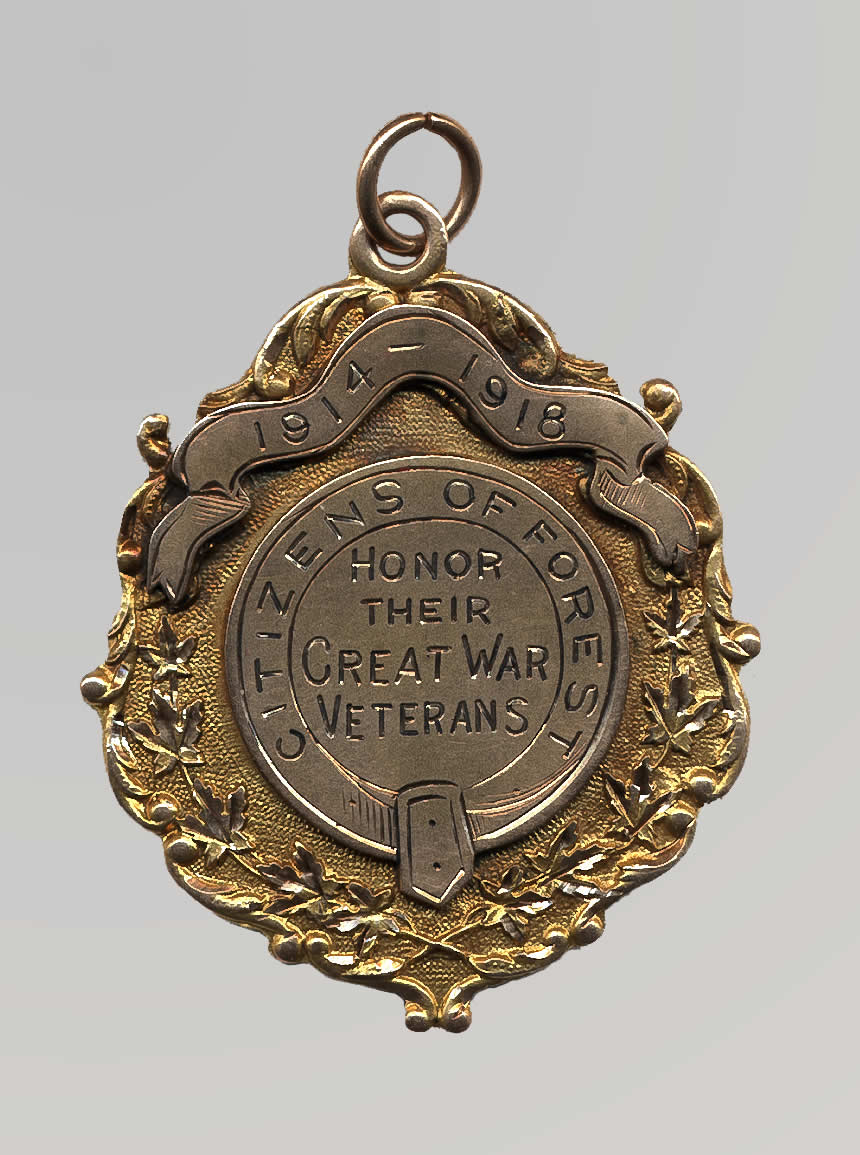 Homecoming Medal