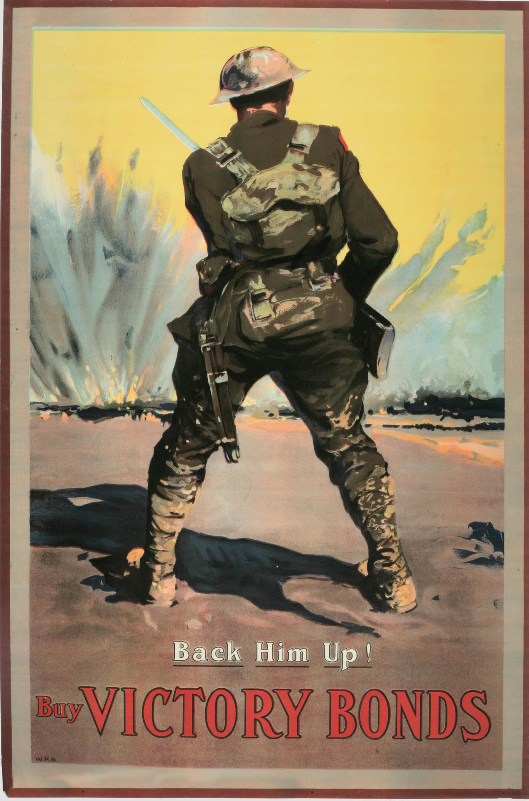 <i>Back Him Up!</i>