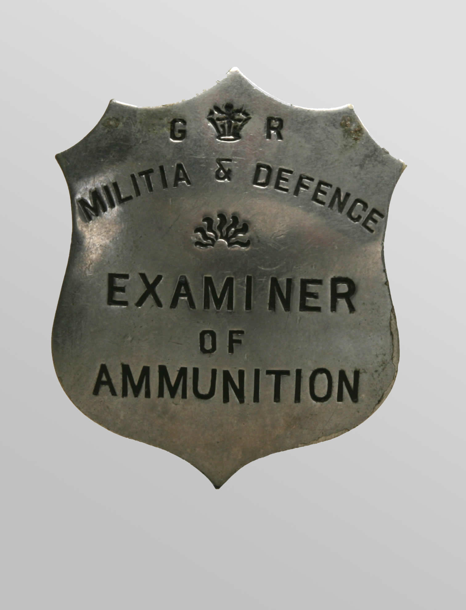 <i>Inspector's Identification Badge</i>