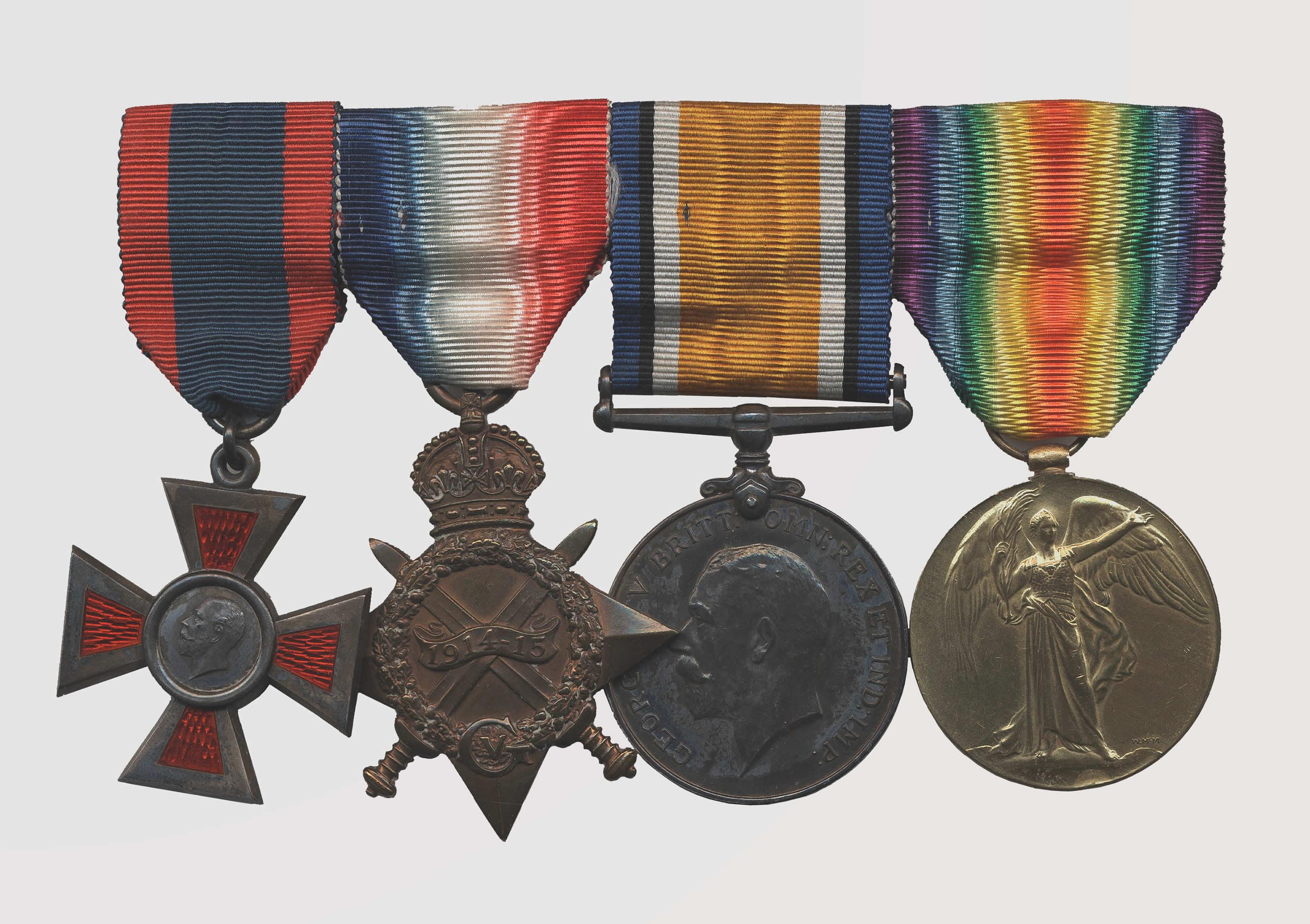 Nursing Sister's Medal Set