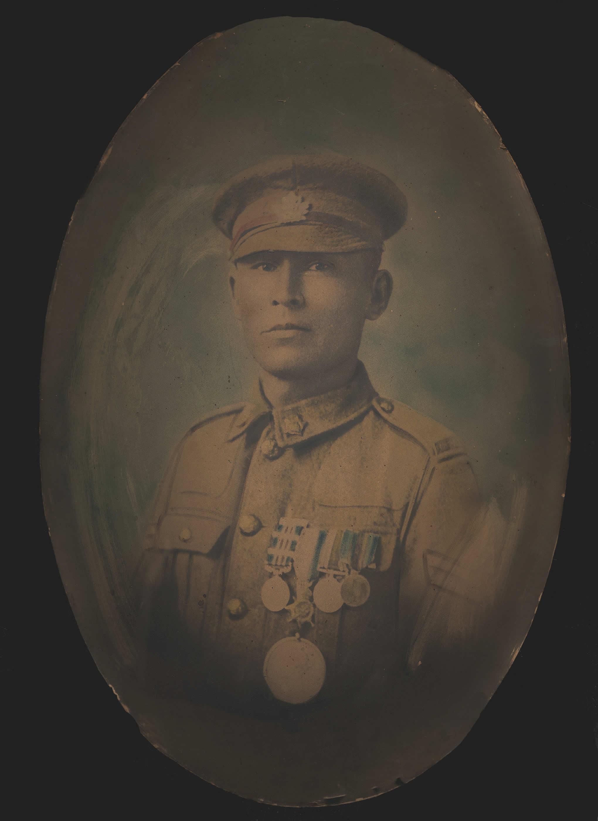 Corporal Francis Pegahmagabow