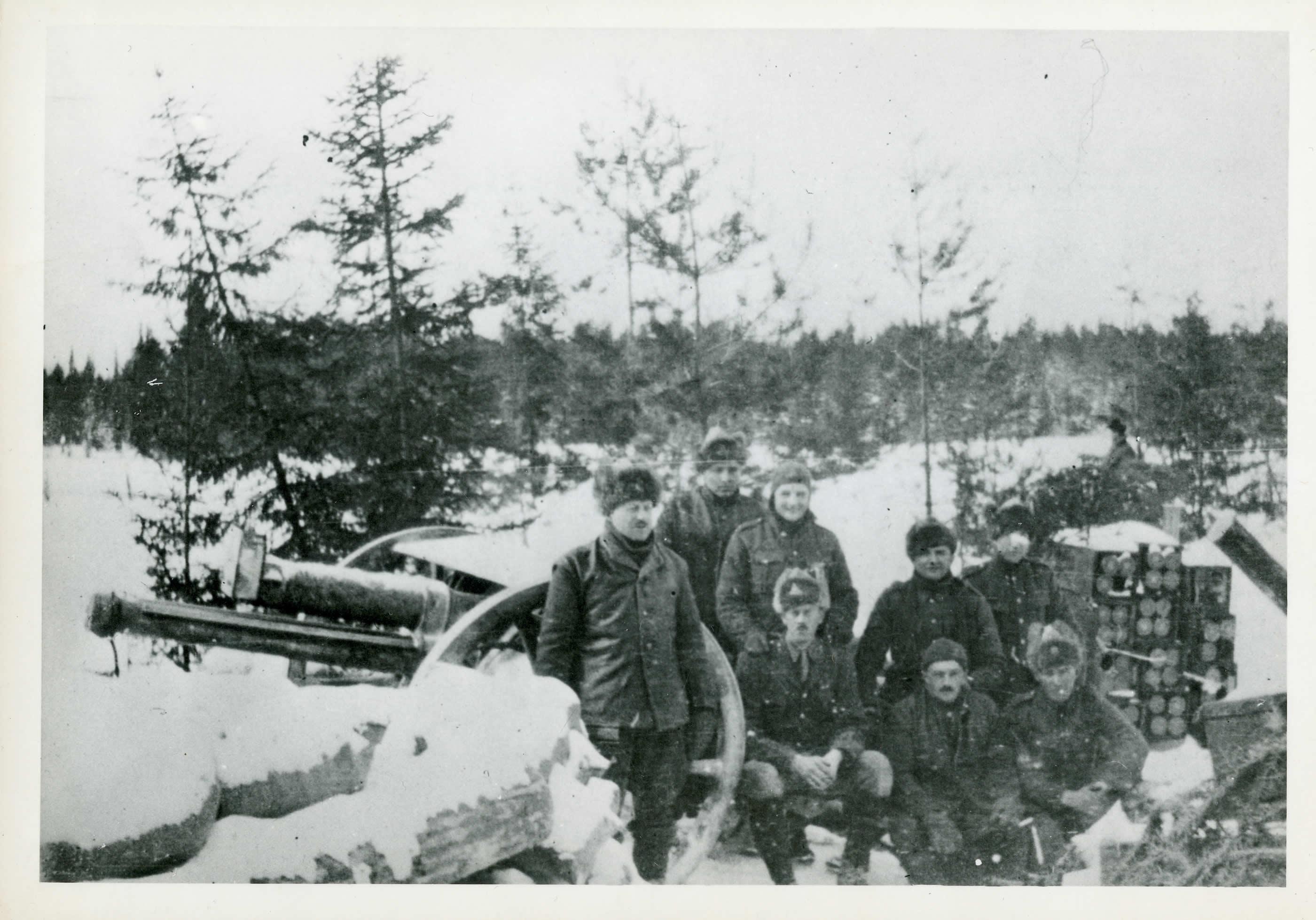 18-Pounder Gun, Siberia