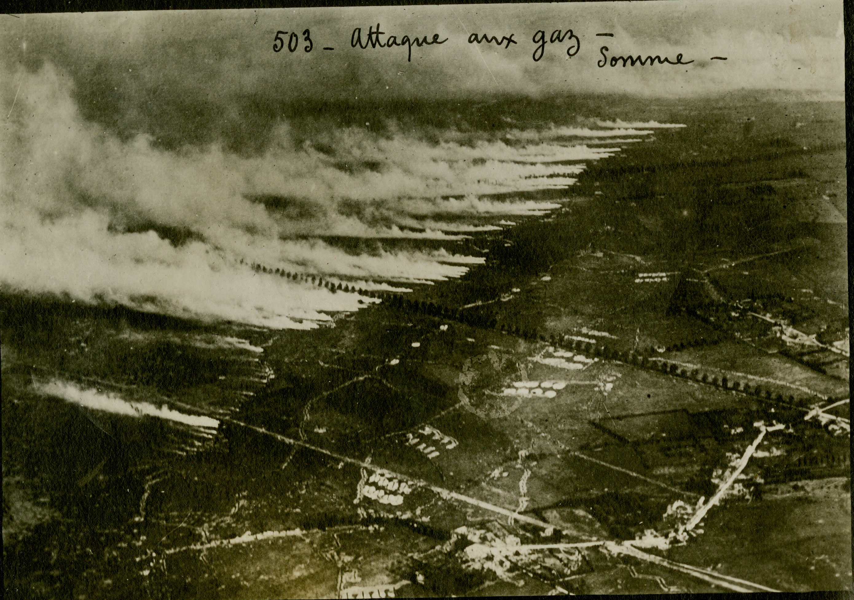 Gas Attack on the Somme