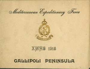 Christmas Card, Gallipoli