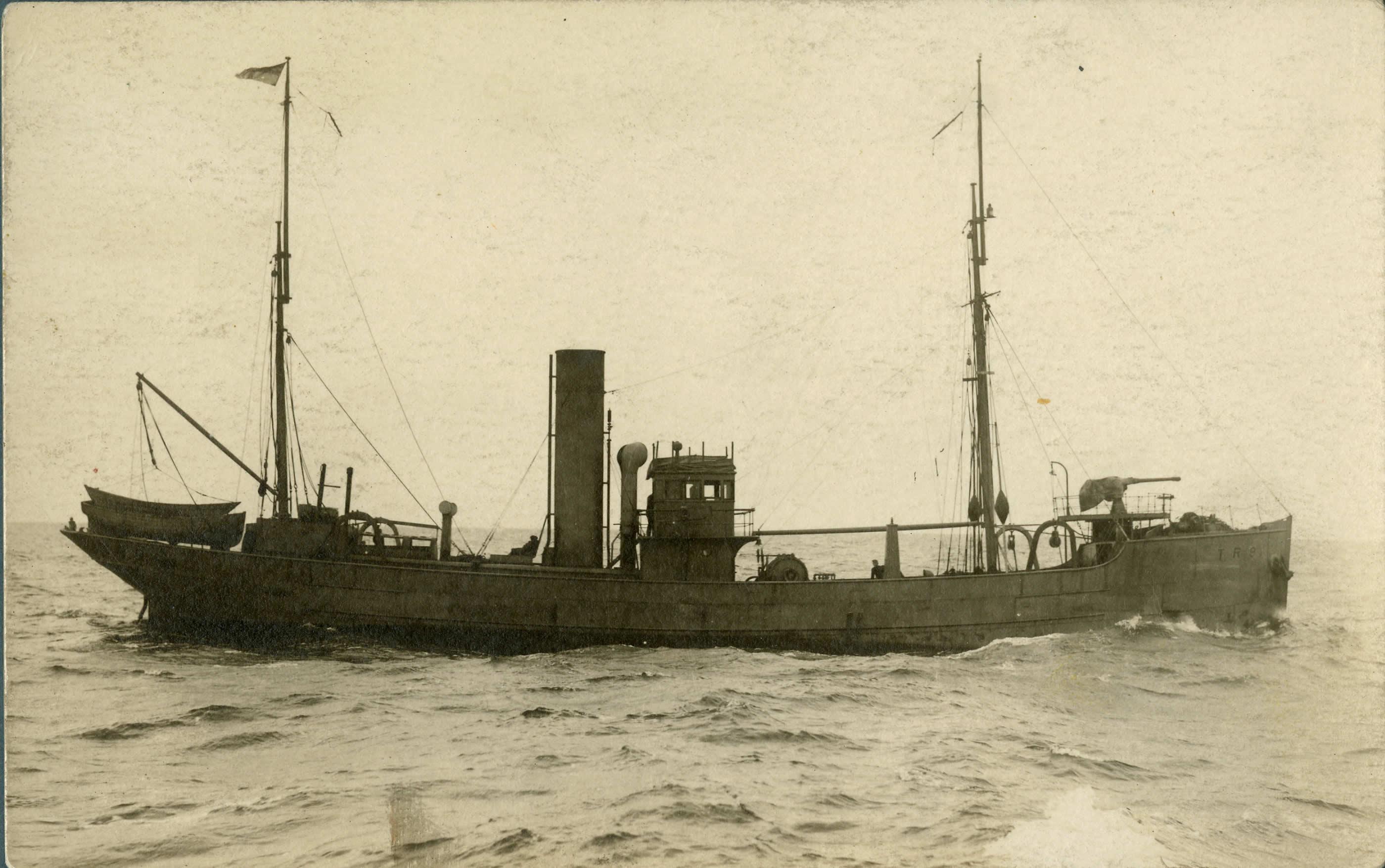 Trawler on Patrol