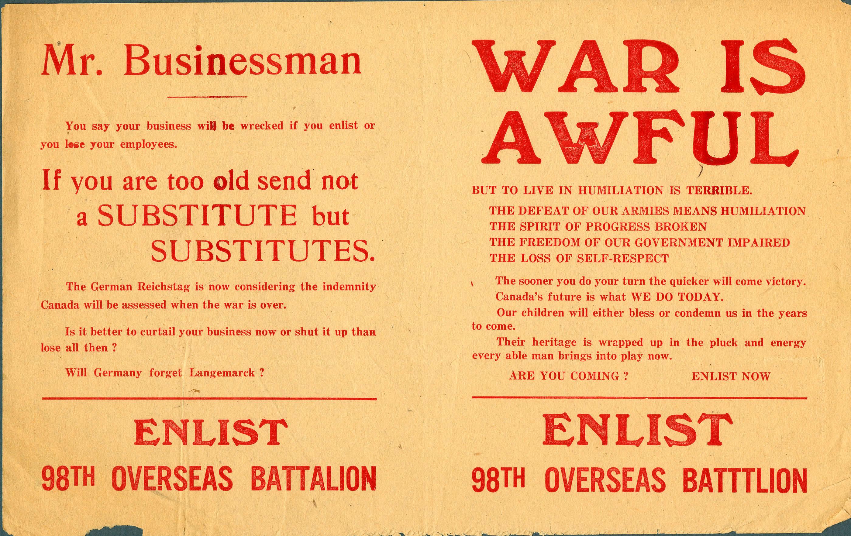 <i>War is Awful</i>