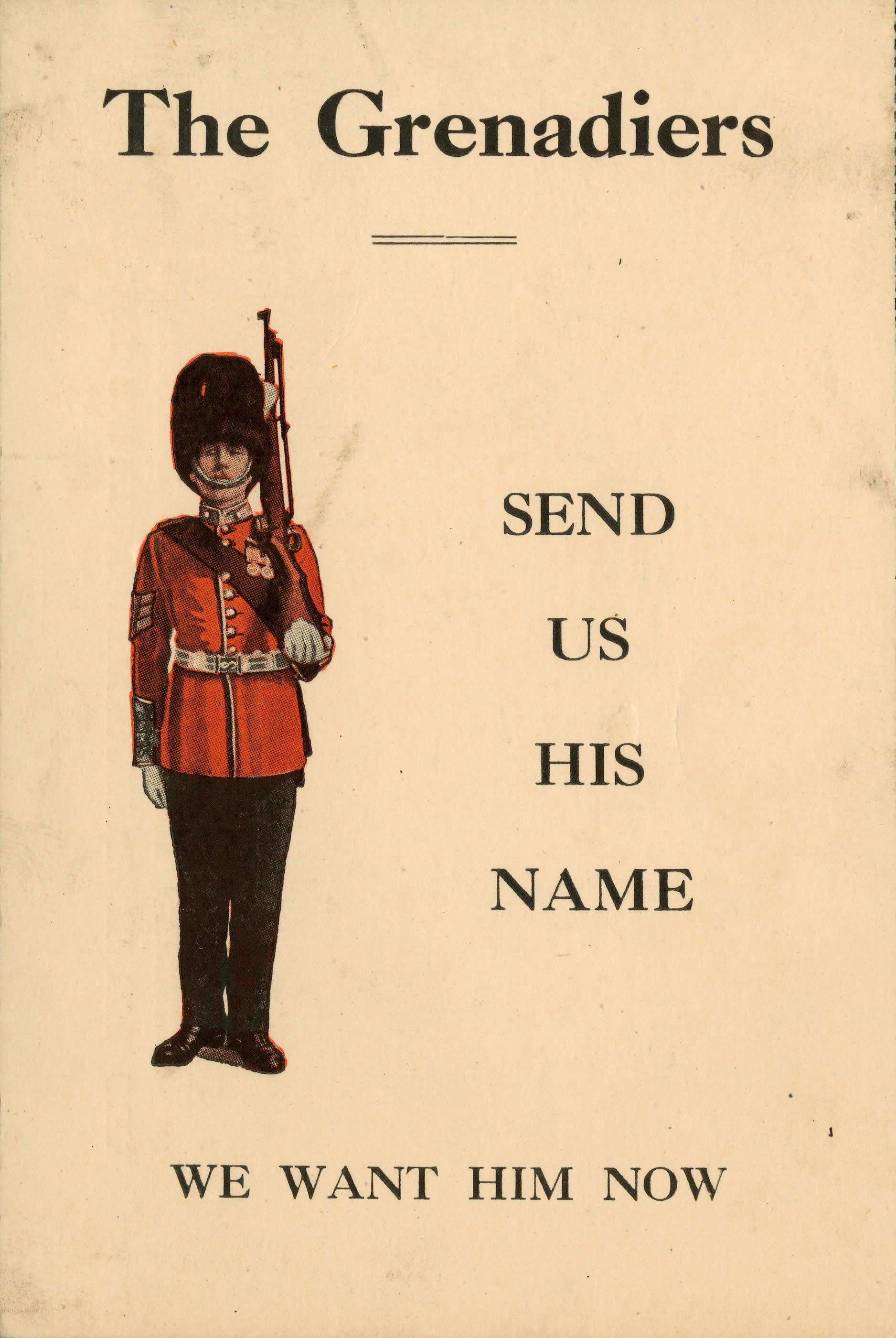 <i>Send Us His Name</i>