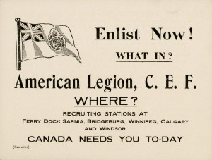 Enlist Now!