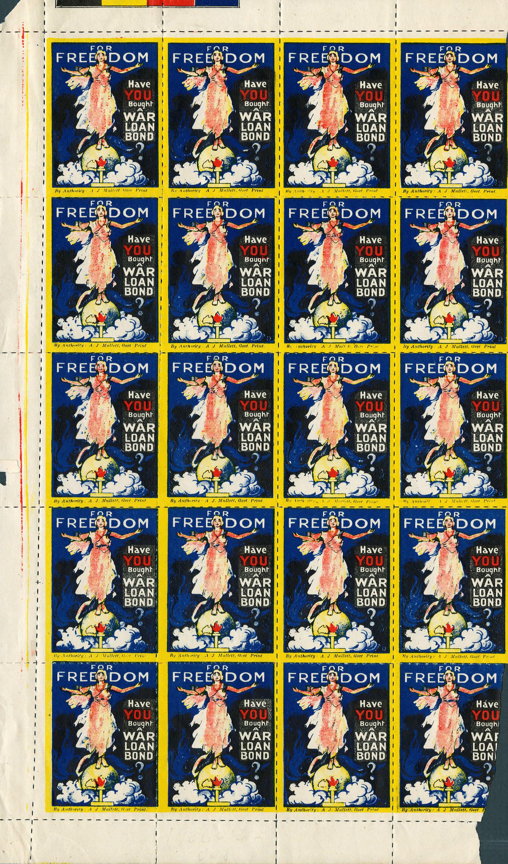 <i>War Bond Stamps</i>