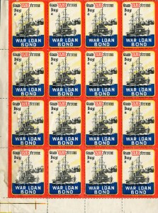 War Bond Stamps