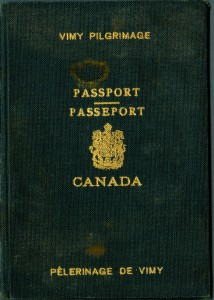 Vimy Passport