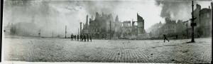 Canadians Entering Cambrai