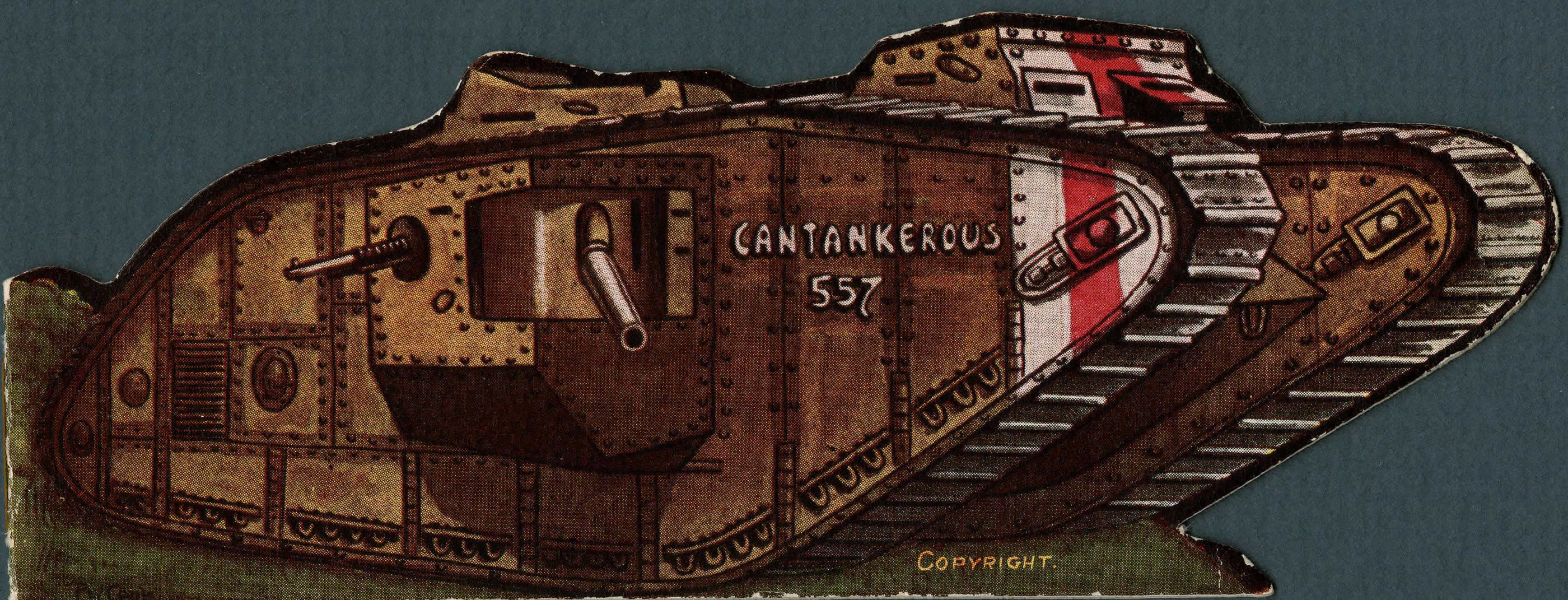 Tank Christmas Card