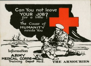 Recruiting for the Medical Corps