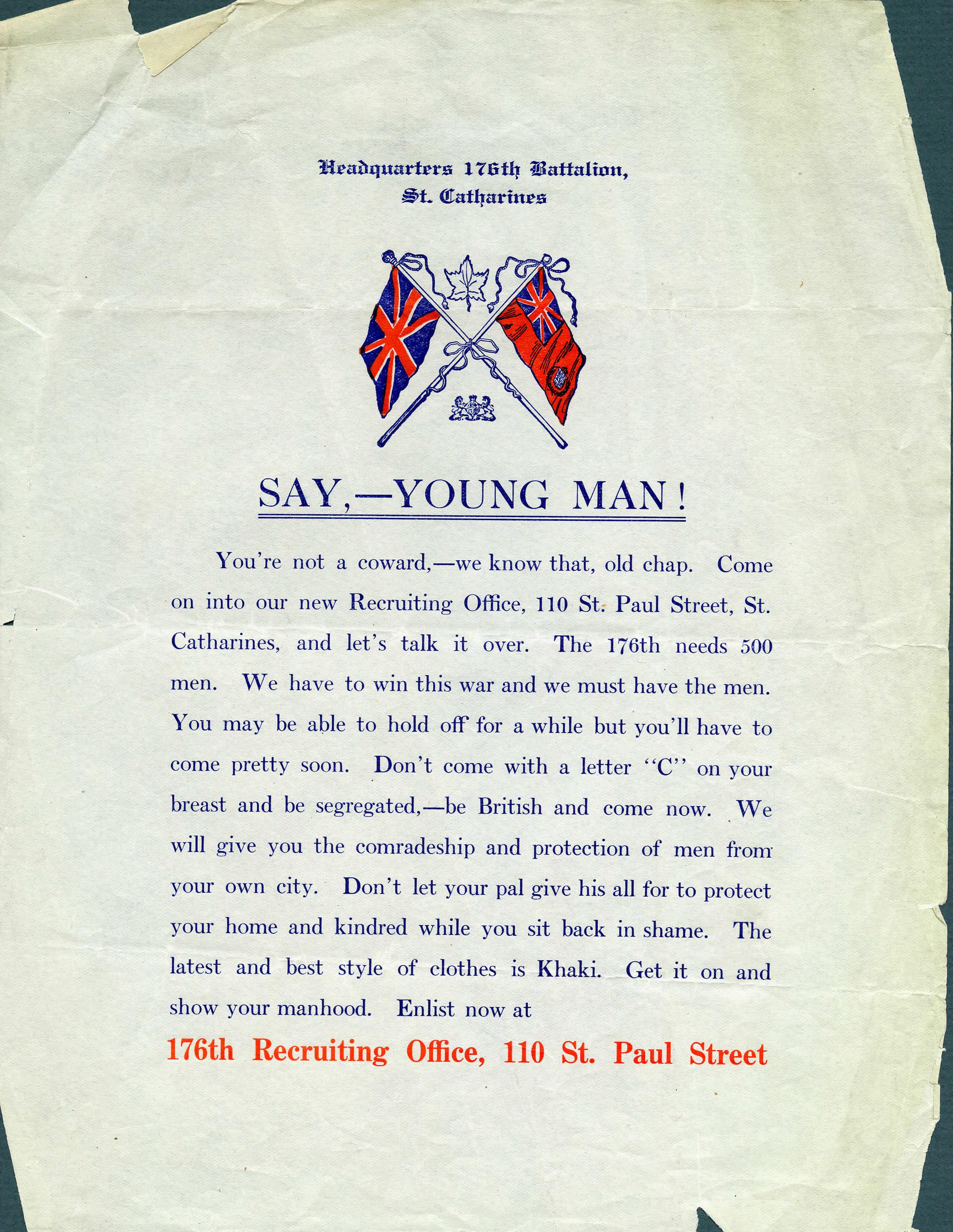 <i>Say, - Young Man!</i>